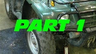 9. How To Replace The Front Wheel Bearings On Your ATV - PART 1