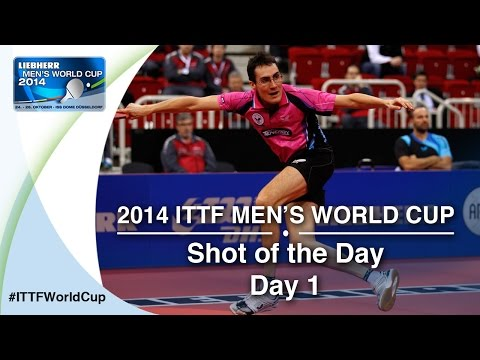 Shot - Enjoy this thrilling rally between Gionis Panagiotis from Greece and Adrien Mattenet from France who won this point with a precise backhand shot that earned the title of