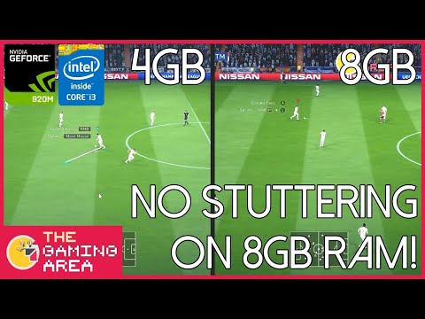 FIFA 19 4GB RAM Vs 8GB RAM Comparison On Low End Laptop