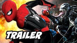 Spider-Man Far From Home Trailer - Venom Future Crossover News Breakdown
