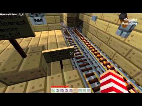 Minecraft - Subway Station (HD)