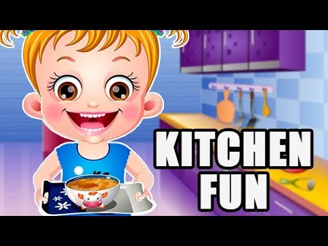 Baby Hazel Kitchen Fun Cooking Game By Baby Hazel Games | Fun Game Videos For Kids
