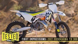 3. Review/First Impressions: 2017 Husqvarna TX 300 Two-Stroke - Vital MX