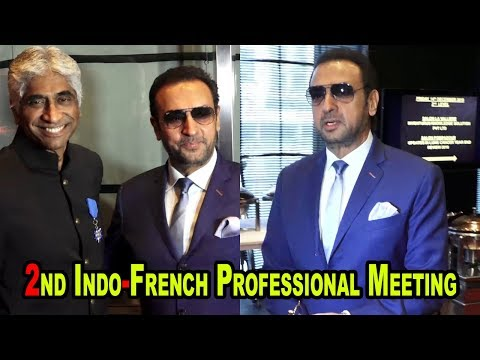 Gulshan Grover At Indo French Professional Meetings of the Film & Telivision Industry