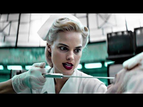 Margot Robbie in latex gloves