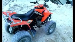 8. Kymco Maxxer 300cc ATV-Quad (walkaround and start)