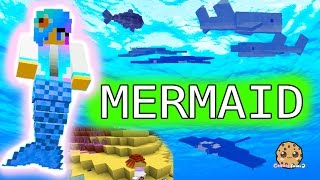I'm A Mermaid - Cookieswirlc Minecraft Game Let's Play Swimming Underwater Oceancraft Gaming Video