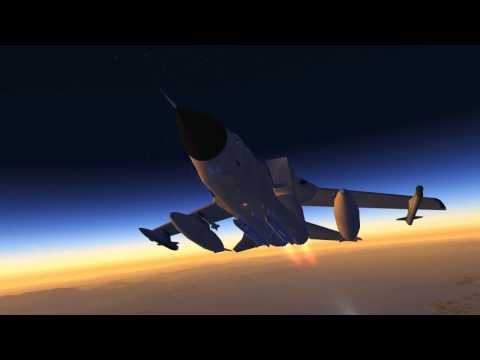 Das zweisitzige Mehrzweckkampfflugzeug...