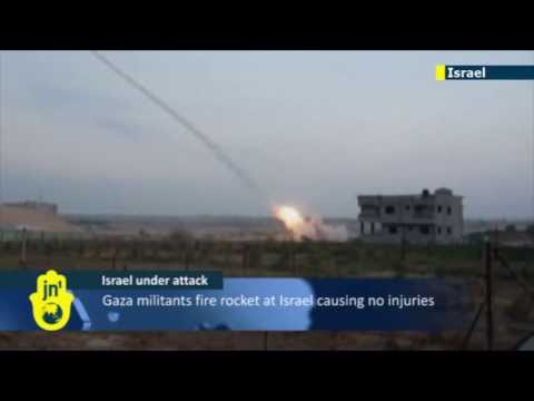 Israel under attack: Gaza militants launch new rocket attack on civilian targets in south Israel