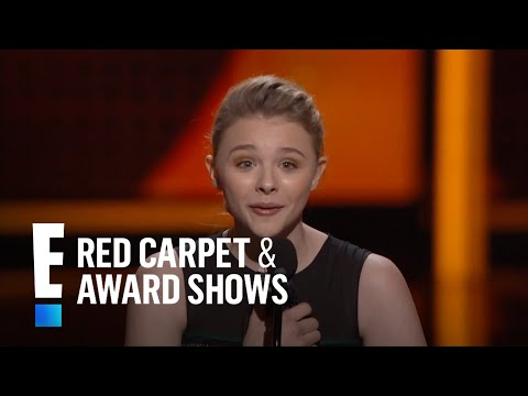 The People\'s Choice for Favorite Movie Star Under 25 is Chloe Grace Moretz