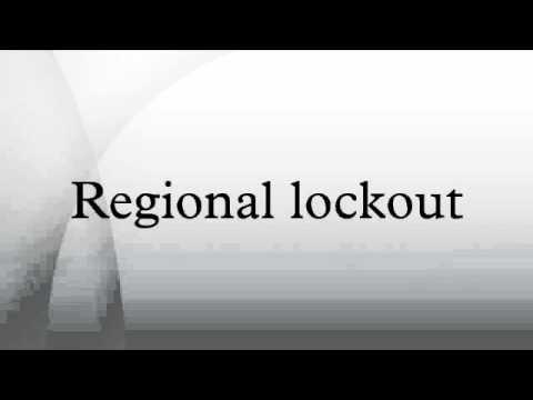 , title : 'Regional lockout'