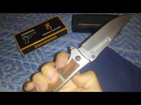 Coltello Browning unboxing