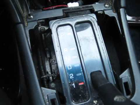 How to replace the shift indicator light on a 1996-99 Infiniti I30/Nissan Maxima