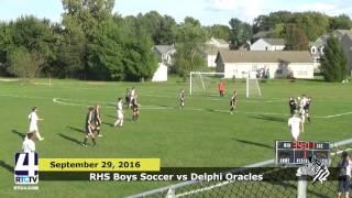 RHS Boys Soccer vs. Delphi Oracles