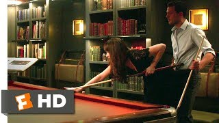 Fifty Shades Darker - A Friendly Wager: Ana (Dakota Johnson) wagers access to his bondage room if she can beat Christian (Jamie Dornan) at pool.BUY THE MOVIE: https://www.fandangonow.com/details/movie/fifty-shades-darker-2017/MMVB513A37D618C366D1B4D17D84DE5866CB?cmp=Movieclips_YT_DescriptionWatch the best Fifty Shades Darker scenes & clips:https://www.youtube.com/playlist?list=PLZbXA4lyCtqpVYB6rdSqxDQKPfTMqMbvGFILM DESCRIPTION:When a wounded Christian Grey (Jamie Dornan) tries to entice a cautious Anastasia Steele (Dakota Johnson) back into his life, she demands a new arrangement before she will give him another chance. As the two begin to build trust and find stability, shadowy figures from Christian's past start to circle them, determined to destroy their hopes for a future together.CREDITS:TM & © Universal (2017)Cast: Dakota Johnson, Jamie DornanDirector: James FoleyScreewriter: Niall LeonardWHO ARE WE?The MOVIECLIPS channel is the largest collection of licensed movie clips on the web. Here you will find unforgettable moments, scenes and lines from all your favorite films. Made by movie fans, for movie fans.SUBSCRIBE TO OUR MOVIE CHANNELS:MOVIECLIPS: http://bit.ly/1u2yaWdComingSoon: http://bit.ly/1DVpgtRIndie & Film Festivals: http://bit.ly/1wbkfYgHero Central: http://bit.ly/1AMUZwvExtras: http://bit.ly/1u431frClassic Trailers: http://bit.ly/1u43jDePop-Up Trailers: http://bit.ly/1z7EtZRMovie News: http://bit.ly/1C3Ncd2Movie Games: http://bit.ly/1ygDV13Fandango: http://bit.ly/1Bl79yeFandango FrontRunners: http://bit.ly/1CggQfCHIT US UP:Facebook: http://on.fb.me/1y8M8axTwitter: http://bit.ly/1ghOWmtPinterest: http://bit.ly/14wL9DeTumblr: http://bit.ly/1vUwhH7