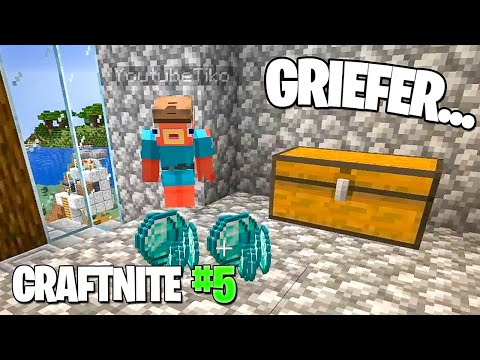 CraftNite Ep.5: Tiko GRIEFED me... (rip diamonds)