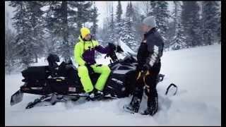 5. Снегоход Ski-Doo Expedition 1200. Квадроциклы и снегоходы. Выпуск 23