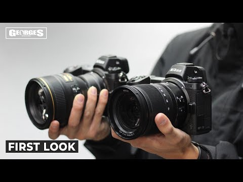 Nikon Z6 Camera with FTZ Mount Adapter video