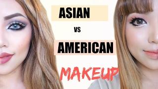 Video Asian Vs American Makeup !!! MP3, 3GP, MP4, WEBM, AVI, FLV Oktober 2018