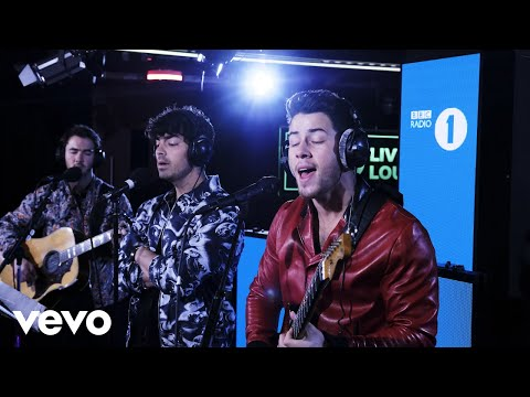 Jonas Brothers - Sucker in the Live Lounge