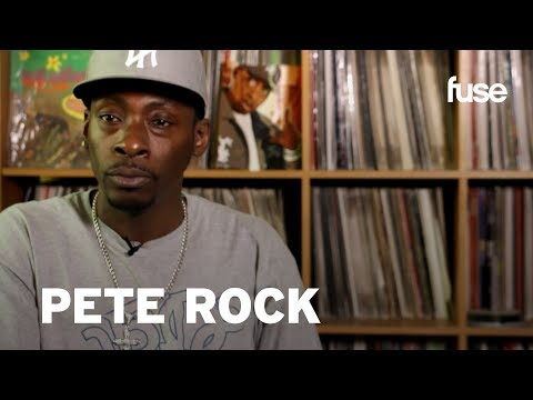 PETE ROCK - Subscribe to Fuse for all our music coverage: http://bit.ly/fuseSub See all of the Crate Diggers: http://www.youtube.com/playlist?list=PL0DA2B4BAA4791B0F Cra...