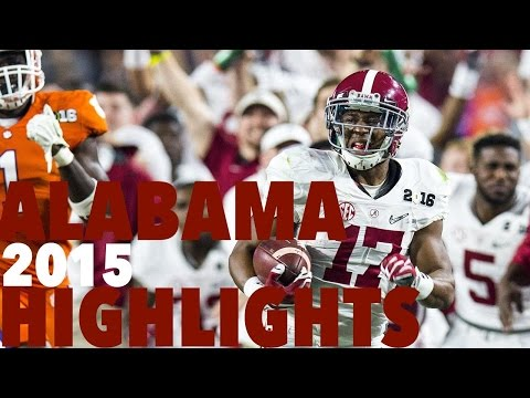 ALABAMA 2015 FOOTBALL HIGHLIGHTS