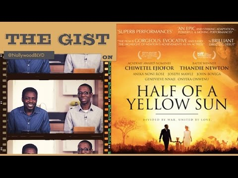 EP005 - HALF OR A YELLOW SUN - Movie Review // The GIST