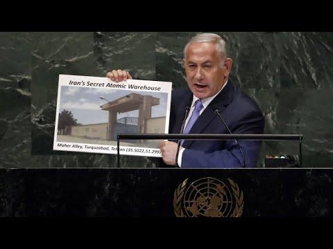 Israel: Ministerpräsident Netanjahu bezichtigt den Iran eines geheimen Atomlagers