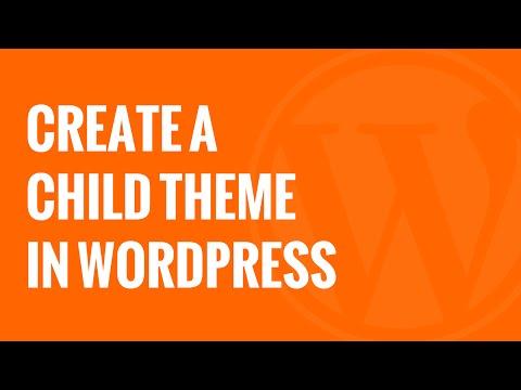 How to Create a WordPress Child Theme