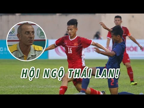 Việt Nam - Thái Lan hội ngộ trong trận chung kết U19 Quốc tế - Thời lượng: 111 giây.