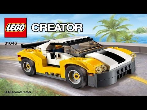 Instructions For LEGO Creator 31046 Fast Car