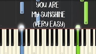 Video YOU ARE MY SUNSHINE - Moira Dela Torre || Synthesia Piano Tutorial (VERY EASY) MP3, 3GP, MP4, WEBM, AVI, FLV Juni 2018