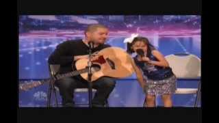 7 Year Old Little Girl Sings Duet With Dad