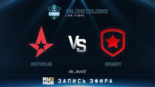 Astralis vs Gambit, game 1
