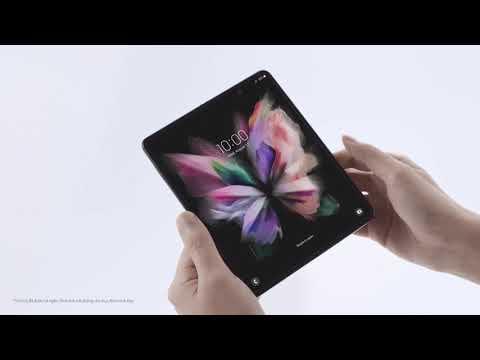 Galaxy Z Fold3 5G: Mở hộp tuyệt tác công nghệ, khai mở vạn tiềm năng I Samsung