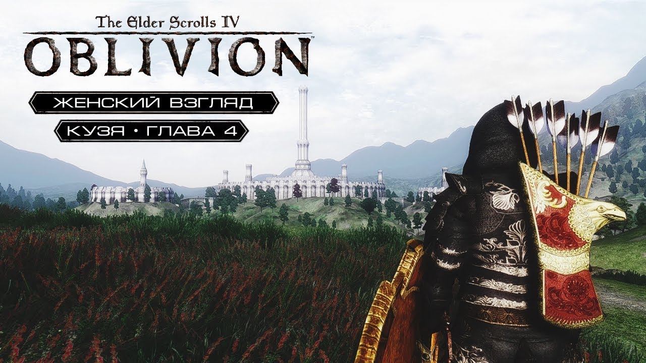 Игры, женский взгляд. Смотреть онлайн: TES: Oblivion – #24 – Неподъемные штрафы!