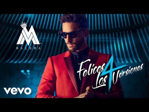 Letra Felices Los 4 (Versión Pop) Maluma