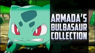 Armada's Bulbasaur collection