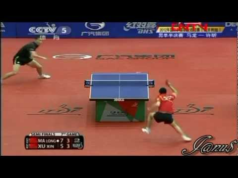 2012 Hungarian Open (ms-sf) MA Long - XU Xin [Full Match|Short Form]