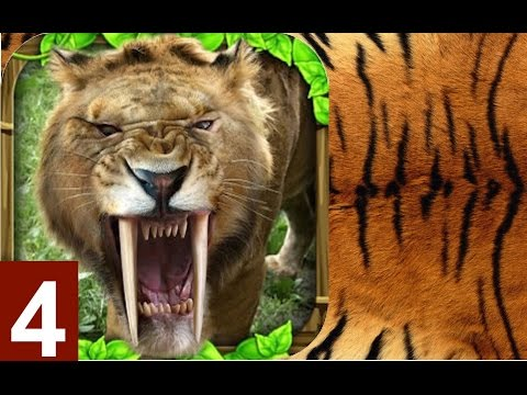 Sabertooth Tiger Simulator By Gluten Free Games -Part 4 –  iPhone, iPad, and iPod touch. Android