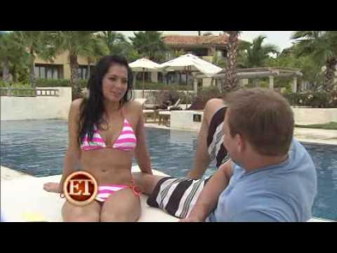 Melissa Rycroft interviewing her husband