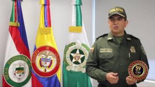 RECOMENDACIONES POLICÍA NACIONAL 59 FERIA DE CALI