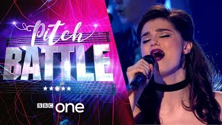 Pitch Battle website: http://bbc.in/2tspn3j Caitlin, Nadia and Ruairi lead their choirs in the Solo Battle.00:05 When I Was Your Man by Bruno Mars (Caitlin - Tring Park 16)01:41 Bring Me To Life by Evanescence (Nadia - VOX-XOVER)03:17 Falling Slowly by Glen Hansard (Ruairi - The Ramparts)