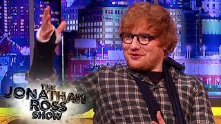 Video Ed Sheeran On His Bicycle Crash and The Dark Side of Fame   The Jonathan Ross Show MP3, 3GP, MP4, WEBM, AVI, FLV September 2019