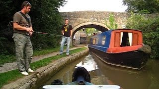Time-lapse Narrowboat Journey On The Oxford Canal, Pigeons lock to Kirtlington Quarry.