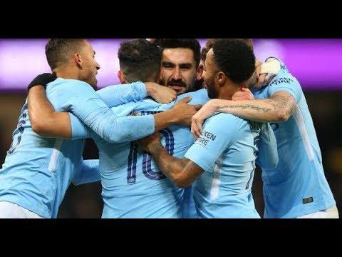 Manchester City VS Bristol City (2-1) - 10/1/2018 All Goals & Highlights HD