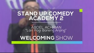 Video Lari Pagi Bareng Anjing - Abdel Achrian (SUCA 2 - Welcoming Show) MP3, 3GP, MP4, WEBM, AVI, FLV November 2018
