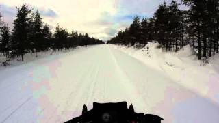 10. Skidoo 1200 Renegade 2013 Vs Apex 2008