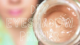 DIY Eyeshadow Primer - YouTube