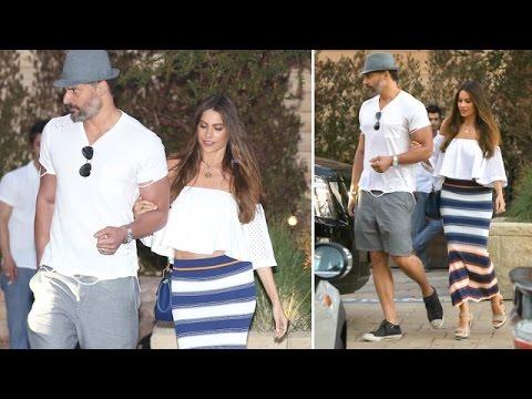 Super Sexy Couple Sofia Vergara And Joe Manganiello Share Romantic Lunch In Malibu